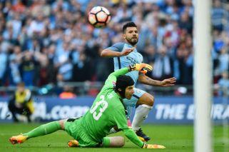 El gol de Agüero no le alcanzó a Manchester City