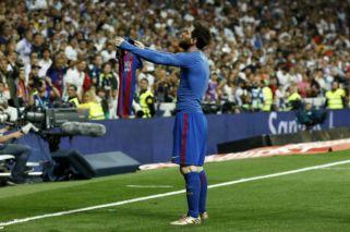 El golazo de Messi ante Real Madrid, desde la tribuna