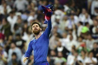 Messi alcanzó los 500 goles con Barcelona en El Clásico