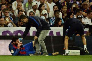 El tremendo codazo de Marcelo que dejó a Messi con sangre en la boca