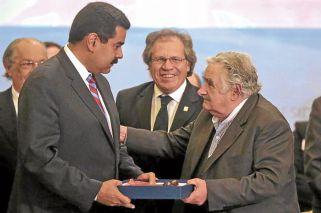 """Mujica rechaza mediar en Venezuela: """"Soy Pepe, pero no mago"""""""
