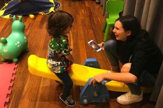 Lolo Tinelli festejó sus tres años con una visita especial