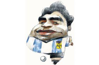 """Verón a Maradona: """"Queda lo que fue como jugador"""""""