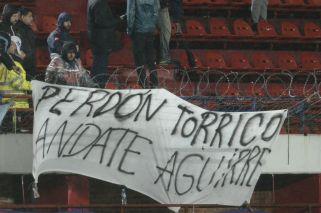 Banderas contra Aguirre y Tinelli en San Lorenzo