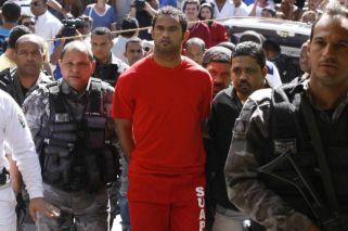 Brasil: el arquero asesino debe volver a prisión