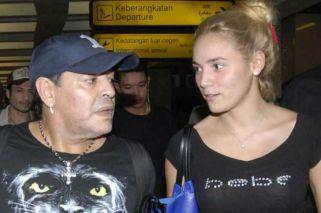 Diego Maradona pidió bajar a Rocío Oliva del Bailando