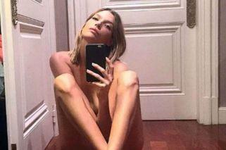 Chloé Bello totalmente desnuda en Instagram