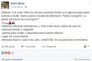 Caso Araceli | Badaracco pedía Justicia por un asesinato