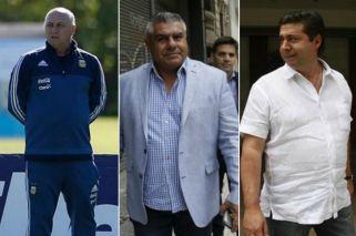 El ayudante de Bauza insultó a Chiqui Tapia y Angelici