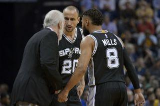 La sana costumbre de los Spurs de Manu Ginóbili