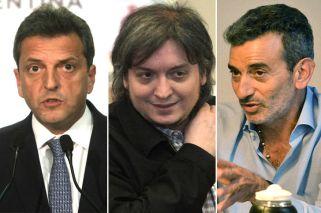 Massa, Maximo y Randazzo