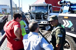 Persecución, tiroteo y heridos por piratas del asfalto en la autopista Ricchieri