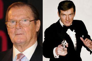 Falleció Roger Moore, uno de las más emblemáticos James Bond
