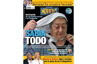 La corrupción de Bonafini y Schoklender en 8 tapas de NOTICIAS