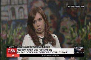 Cristina mete presión: