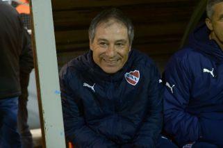 "Holan: ""Hay que entrar a la próxima Libertadores"""