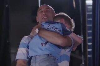 La emotiva sorpresa de Zabaleta a un fanático del Manchester City