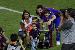 Barcelona conquistó la Copa del Rey con un Messi brillante