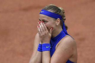 Petra Kvitova volvió al circuito tras ser apuñalada