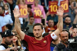Emotivo adiós:Roma despidió a Francesco Totti como una leyenda