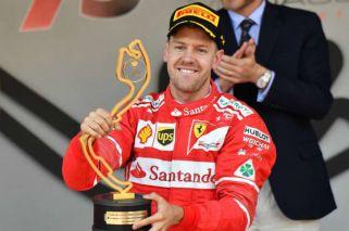 Sebastian Vettel cortó una larga sequía de Ferrari