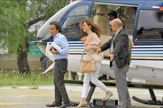 Vidal dice que prefiere ir en auto, pero hace veinte viajes al mes en helicóptero