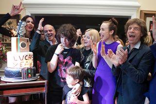 Mick Jagger viajó a San Pablo para festejar los 18 de Lucas, su hijo brasileño