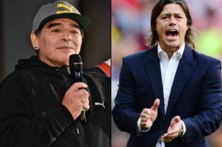 El elogio de Maradona al 'Pelado' Almeyda