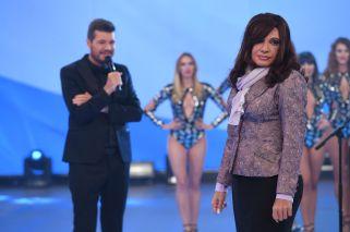 De la mano de Martín Bossi, volvió Cristina Kirchner a Showmatch
