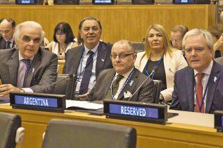 El Gobierno ratificó el reclamo de una salida negociada por Malvinas