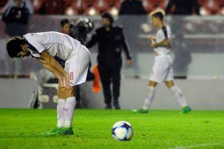 Independiente igualó con Lanús y se quedó sin Libertadores