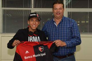 Brian Sarmiento ya es nuevo jugador de Newell's