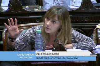 """El picante cruce entre Elisa Carrió y Juliana Di Tullio: """"Callate, querida"""""""