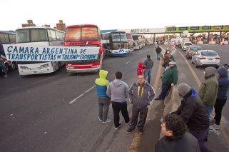 Se levantó el megapiquete en la AU La Plata-Bs. As.