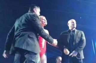 Un hombre armado habría intentado atacar a Britney Spears en pleno show