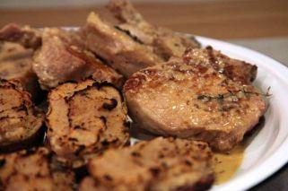 Costillitas de cerdo con batatas agridulces de Marcela Lovegrove