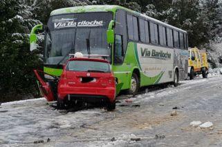 Mauro Giallombardo sufrió un accidente en la Ruta 40