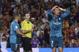 La injusta expulsión a Cristiano Ronaldo ante Barcelona