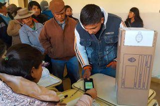 Comienza a regir el sistema de validación biométrico en el Norte