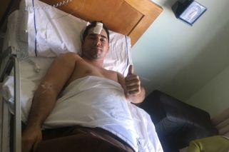 Acompañante de Giallombardo dio detalles del accidente