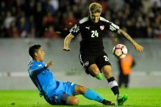 Emiliano Rigoni volvió a entrenar en Independiente