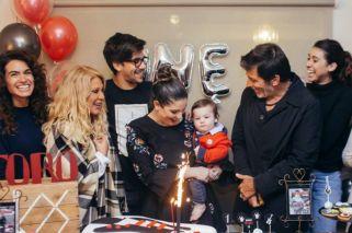 Súper revuelo por el cumpleaños rockero de Toribio Repetto