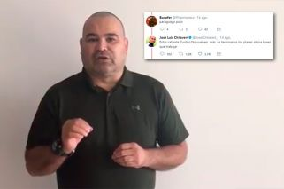 Chilavert apoyó a Macri y se peleó con tuiteros K