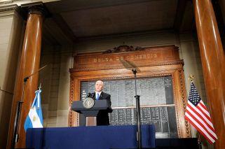 "Pese a las amenazas de Trump a Maduro, Pence prometió un ""compromiso con América Latina"""
