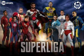 La Superliga argentina tuvo su presentación oficial
