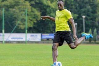 Tientan a Usain Bolt para ser futbolista profesional