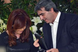 Francisco Durañona y Cristina Kirchner