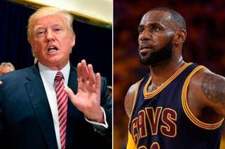 LeBron James acusó a Donald Trump de poner el odio de moda