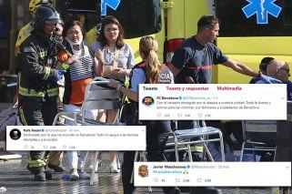 El mundo del deporte abraza a las víctimas del atentado