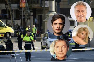 El mensaje de los famosos tras el atentado de Barcelona